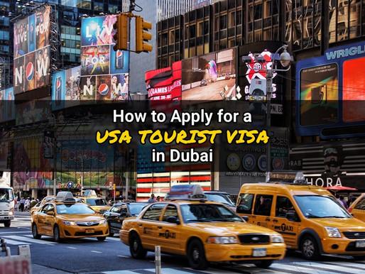 USA Tourist Visa Application Process in Dubai