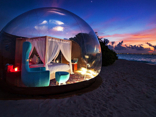 Luxury Beach Bubble Tent Launched in Maldives