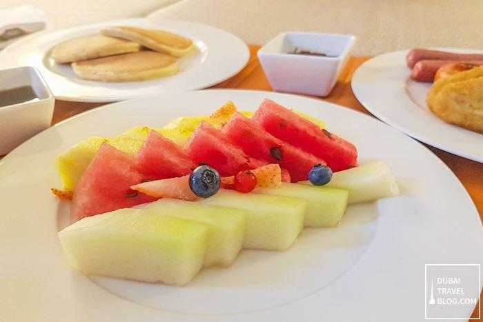 fruits room service dubai wasl hyatt place