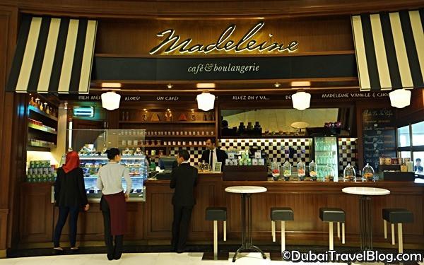 madeleine restaurant dubai mall