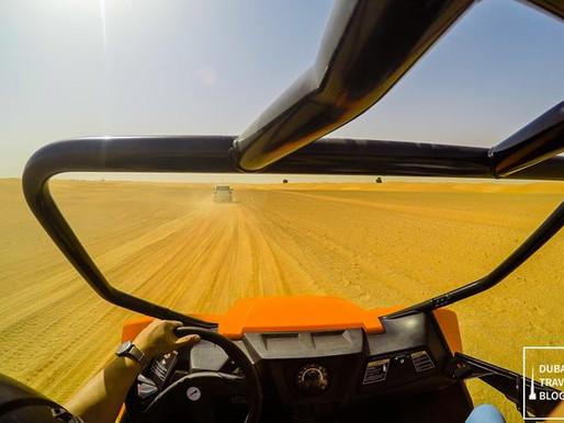 Dune Buggy Experience in Al Faqa Desert by Delta Adventures