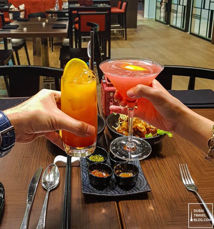 wox restaurant drinks