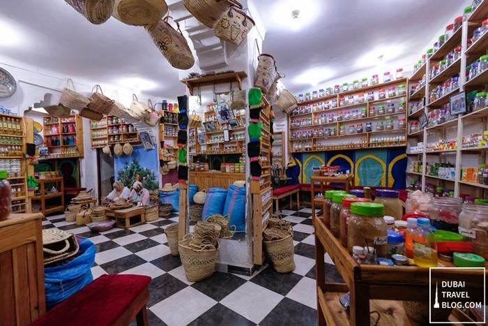 argan oil store fes morocco