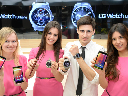 Lg's Range Of Mobile Devices On Display At Mwc 2015