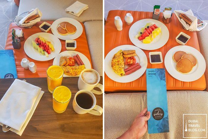 hyatt place dubai wasl district in room service
