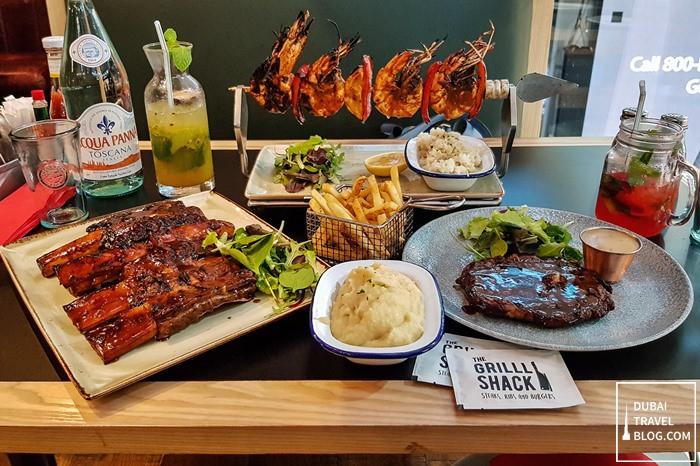 the grilll shack restaurant dubai