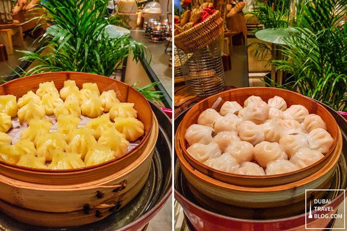dumplings at palace downtown hotel