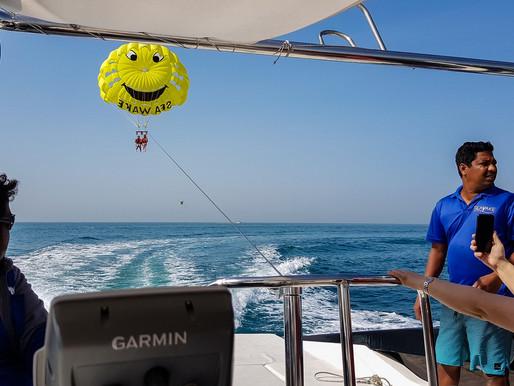 Parasailing Adventure on Jumeirah Beach with Seawake Dubai