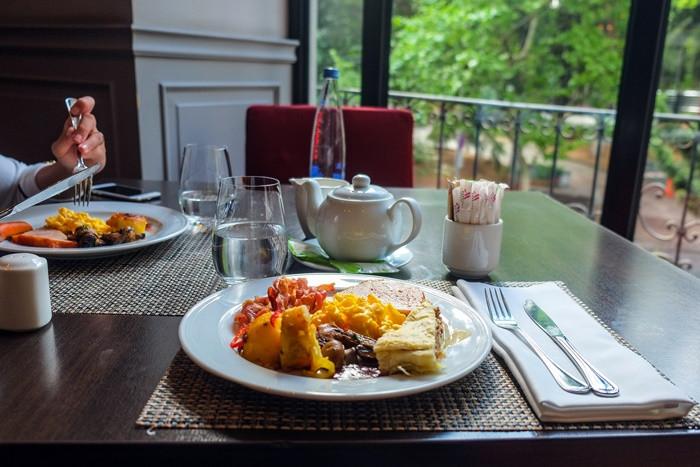 breakfast at tbilisi marriott georgia