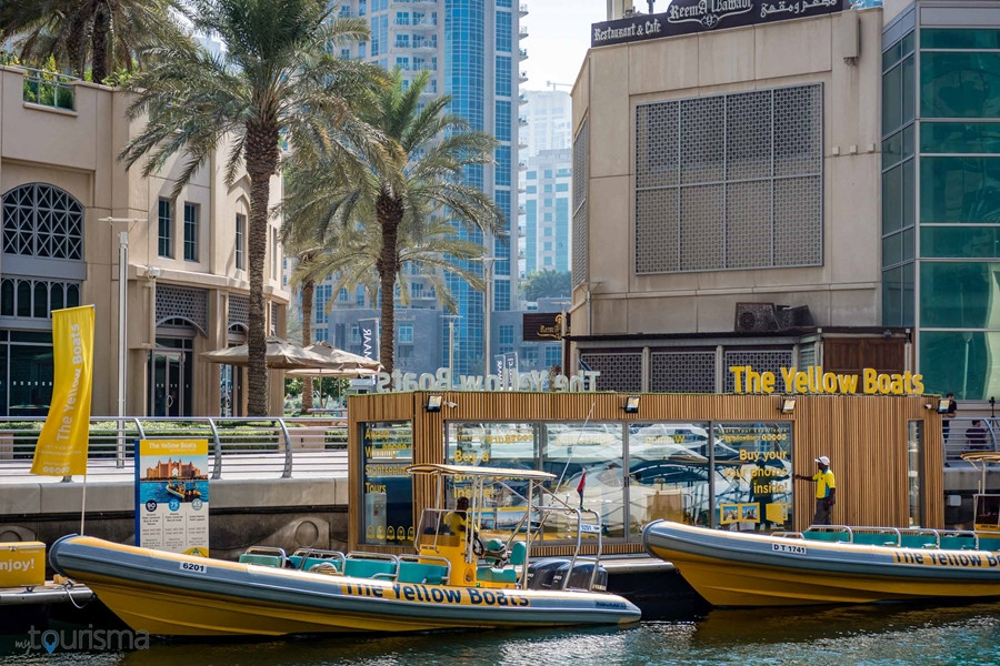 The Yellow Boats Boarding
