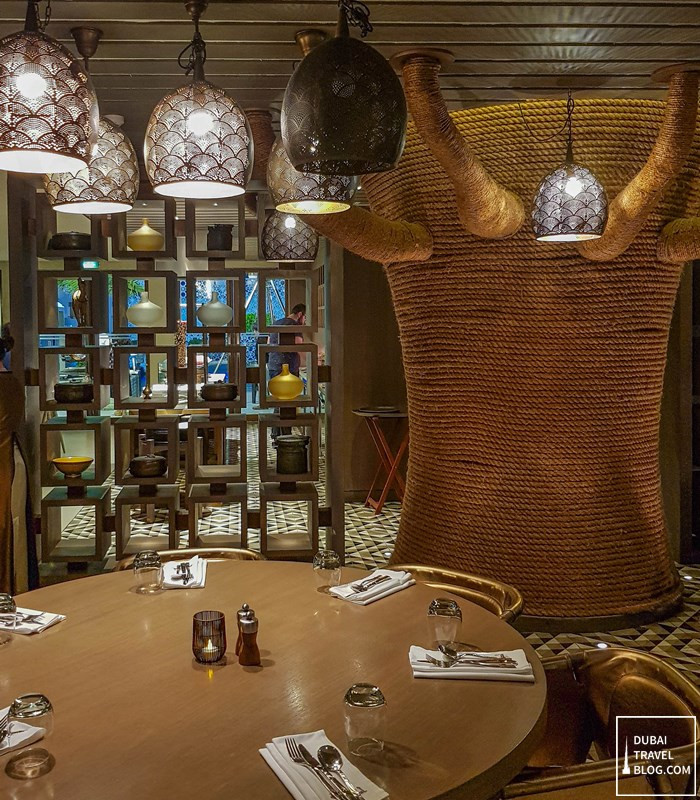 aseelah restaurant interior