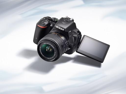 Nikon unveils D5500, the world's smallest and lightest DSLR