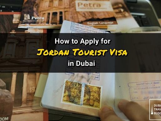 Jordan Tourist Visa Application Process in Dubai