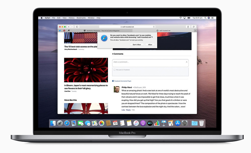 What is the default browser for macOS X