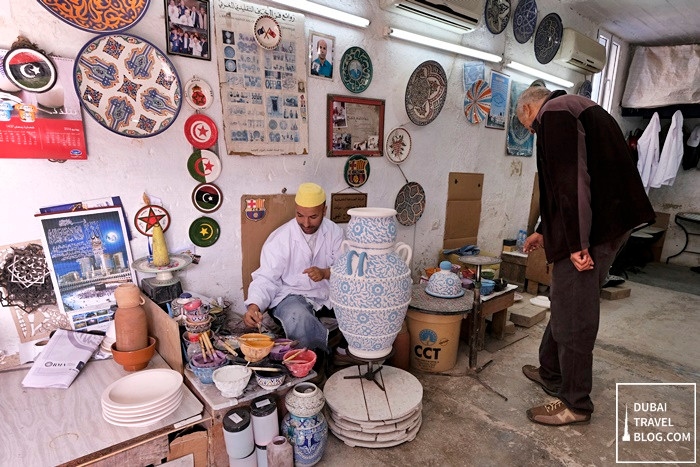 pottery workshop in fez