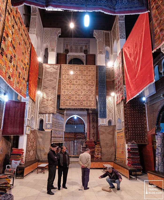 carpet store in fez morocco