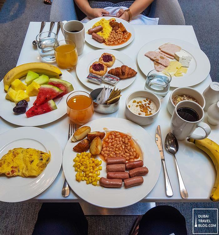 breakfast Gallery Kitchen Hyatt Place Dubai Wasl District
