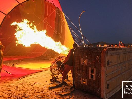 25 Photos: Hot Air Balloon Adventure Over the Dubai Desert