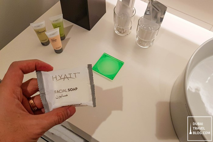 hyatt place dubai toiletries