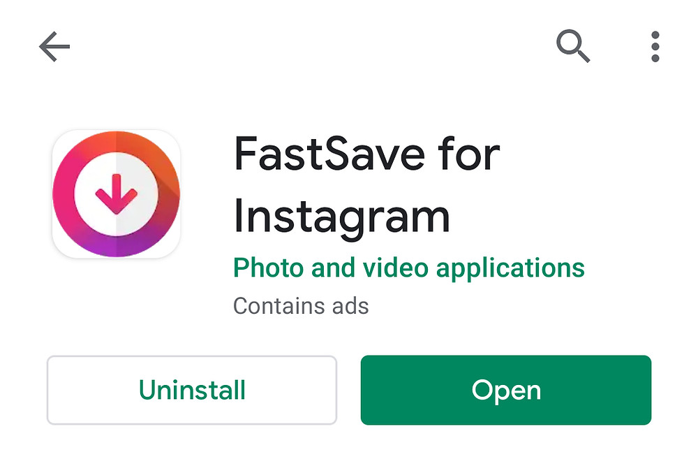 How to save Instagram images on Android