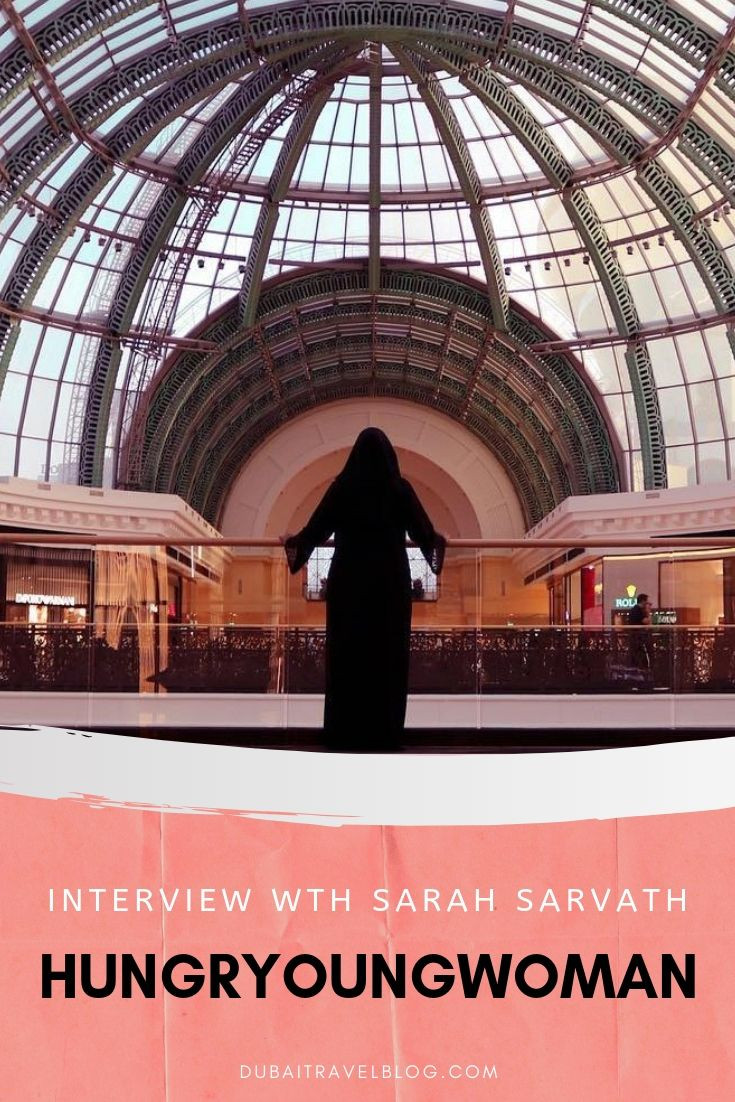 Interview with Sarah Sarvath Hungryoungwoman