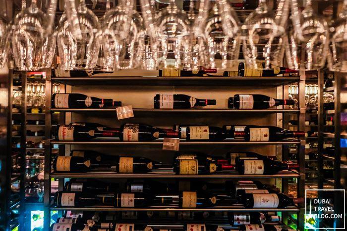 wine teatro dubai walk in cellar