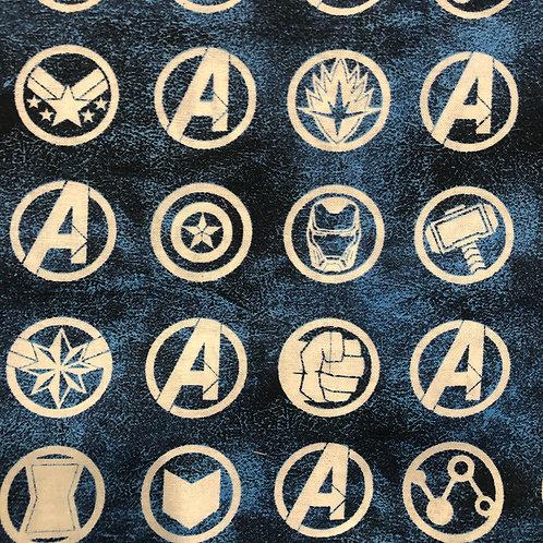 Avengers Logos Face Mask
