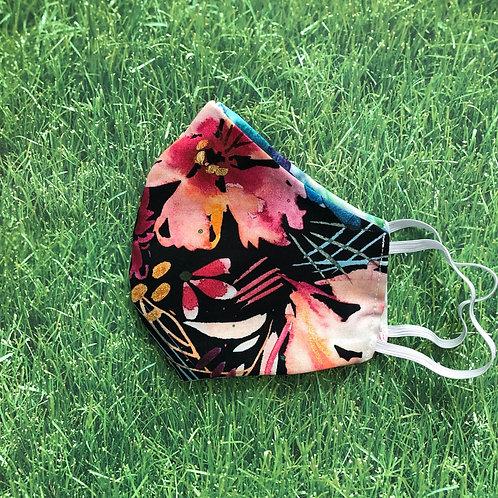 Watercolor Paradise Face Mask