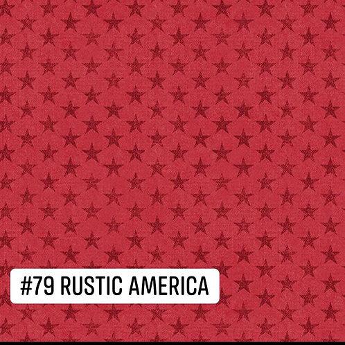 Rustic America Face Mask