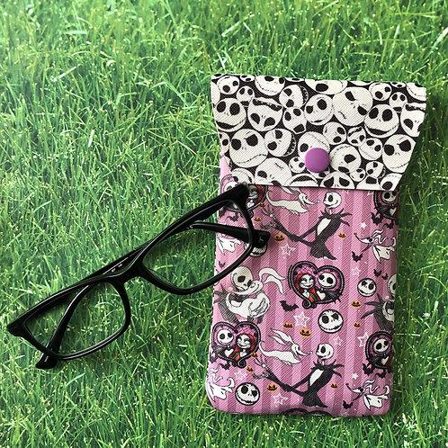 Jack & Sally Soft Eyeglass Case