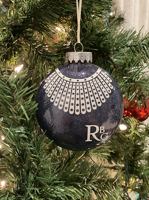 RBG Christmas Ornament