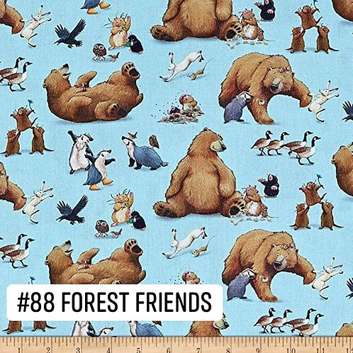 Forest Friends Face Mask