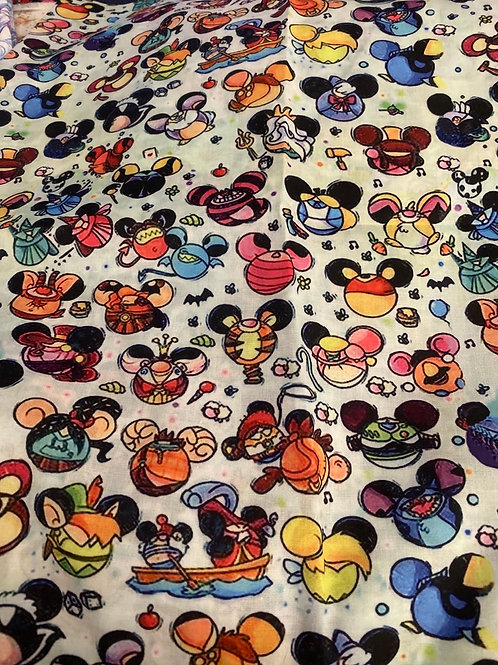 Mickey Friends Ears Face Mask