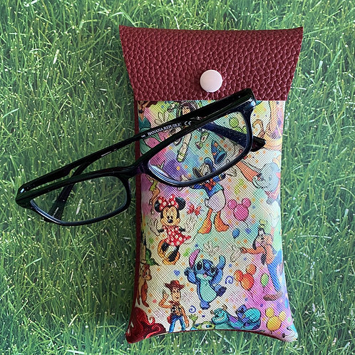 Disney Pals Faux Leather Soft Eyeglass Case