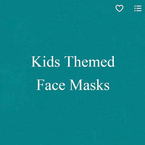Kids (1) Themed Face Masks
