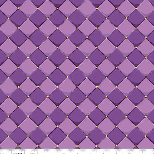 Purple Diamonds Face Mask