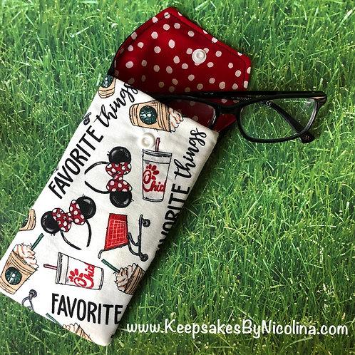 My Favorite Things Padded Eyeglass Case