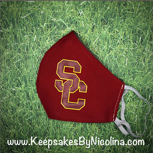 USC Trojans Face Mask