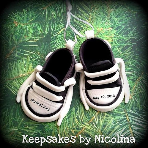 Baby Shoes Ornament