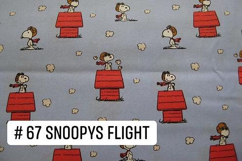Snoopy's Flight Face Mask
