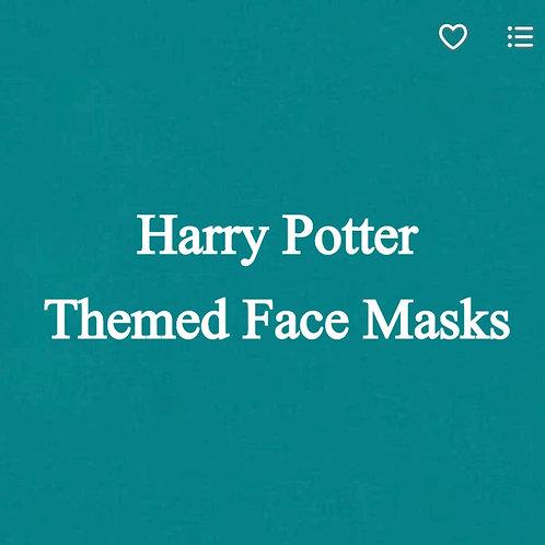 Harry Potter Themed Face Masks