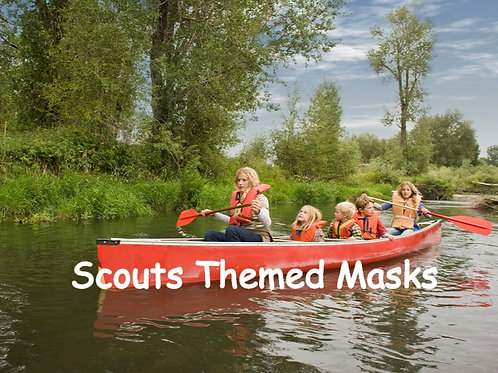 Scouts Themed Face Masks