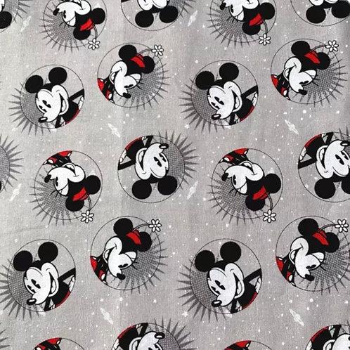 Mickey & Minnie Circles Face Mask