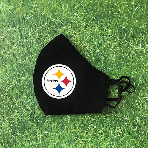 Steelers Logo Face Mask