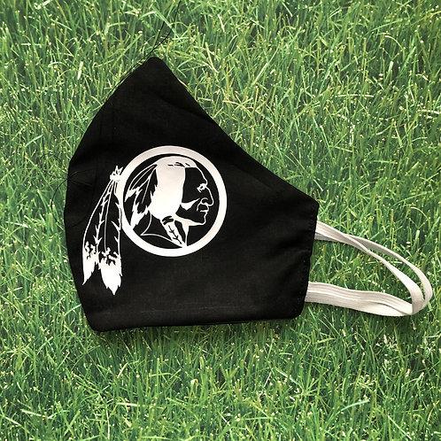 Redskins Logo Face Mask