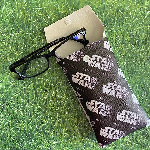 Star Wars Faux Leather Soft Eyeglass Case