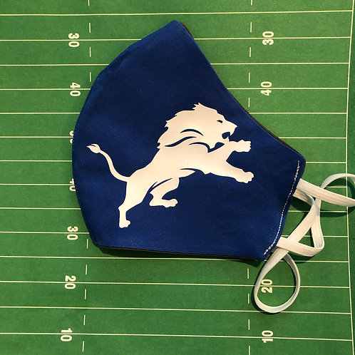 Lions Logo Face Mask