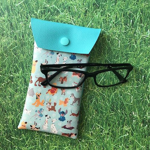 Disney Dogs Soft Eyeglass Case