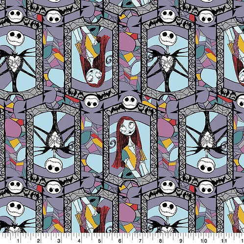 Nightmare Before Christmas Face Mask - Jack & Sally