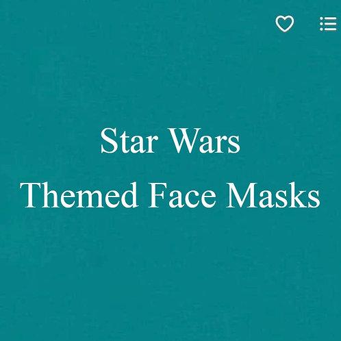 Star Wars Themed Face Masks